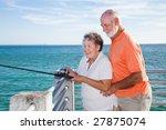 retired senior couple enjoys...   Shutterstock . vector #27875074