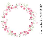 Detailed Contour Wreath With...