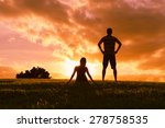 couple enjoying a amazing... | Shutterstock . vector #278758535