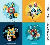 energy efficiency design...   Shutterstock .eps vector #278764538
