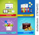 business design concept set... | Shutterstock .eps vector #278766452