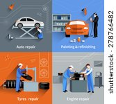 mechanic design concept set... | Shutterstock .eps vector #278766482