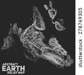 vector abstract earth relief... | Shutterstock .eps vector #278769305