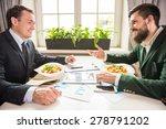 two confident businessmen... | Shutterstock . vector #278791202