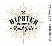 monochrome hipster vintage... | Shutterstock .eps vector #278794412
