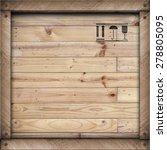 Wooden Box Texture Background