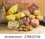 brazilian food for june feast. | Shutterstock . vector #278815736