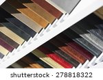 fabric samples  upholstery and...   Shutterstock . vector #278818322