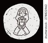 princess doodle | Shutterstock . vector #278822462