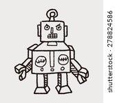 robot doodle | Shutterstock . vector #278824586