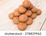 fresh falafel balls | Shutterstock . vector #278829962