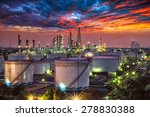 oil and gas industry   refinery ... | Shutterstock . vector #278830388
