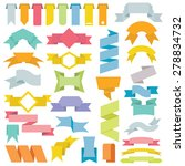 vector collection of decorative ... | Shutterstock .eps vector #278834732