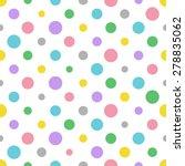Colorful Polka Dot Pattern ...