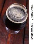 a snifter glass full of dark... | Shutterstock . vector #278893958
