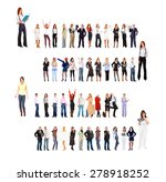clerks compilation many... | Shutterstock . vector #278918252