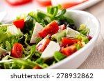 mixed salad | Shutterstock . vector #278932862