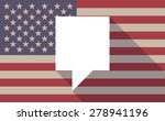 illustration of an usa flag...
