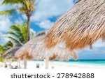 View Of Turquoise Lagoon In...