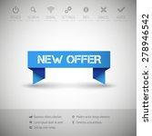 modern infographics options... | Shutterstock .eps vector #278946542