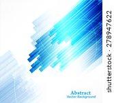 business abstract blue... | Shutterstock . vector #278947622
