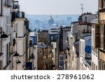 Beautiful Panorama Of Paris An...
