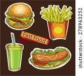 "the vector illustration ""hand... | Shutterstock .eps vector #278963252"