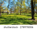 early summer wells in the park... | Shutterstock . vector #278978306