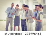 business people using their... | Shutterstock . vector #278996465