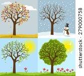 seasonal | Shutterstock .eps vector #279000758