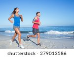 Happy Couple Running Together...