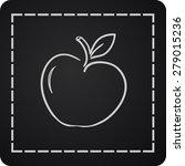 icon of apple | Shutterstock .eps vector #279015236