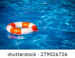 Life Buoy In Swimming Pool....
