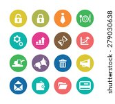 b2b icons universal set for web ... | Shutterstock . vector #279030638