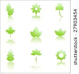 elements of nature | Shutterstock .eps vector #27903454