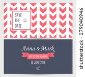 wedding invitation. vector... | Shutterstock .eps vector #279040946