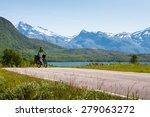 Biking In Norway Against...
