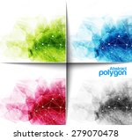abstract polygonal background ... | Shutterstock .eps vector #279070478