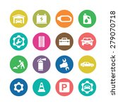 auto icons universal set for... | Shutterstock . vector #279070718