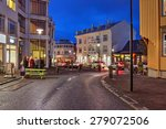 street scene on...