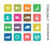 auto icons universal set for... | Shutterstock . vector #279075812