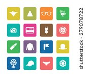 accessories icons universal set ... | Shutterstock . vector #279078722