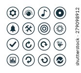 audio icons universal set for... | Shutterstock . vector #279098912