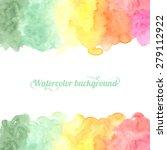 bright multicolor hand drawn... | Shutterstock .eps vector #279112922