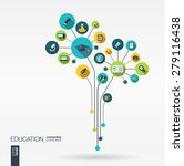 abstract education background... | Shutterstock .eps vector #279116438