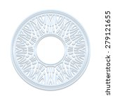 circle lace ornament  round... | Shutterstock .eps vector #279121655