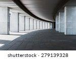 long corridor of a building...   Shutterstock . vector #279139328