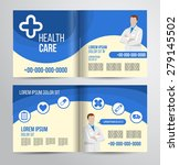vector health care brochure for ... | Shutterstock .eps vector #279145502