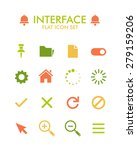 vector flat icon set   user...