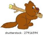beaver   Shutterstock .eps vector #27916594